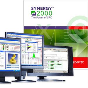 Monitors using Zontec's Synergy 2000 SPC software.