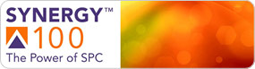 Synergy 100 SPC Software logo.