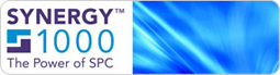 Synergy 1000 SPC Software logo.