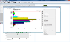 Each chart in Synergy SPC software allows users to change numerous options instantly.