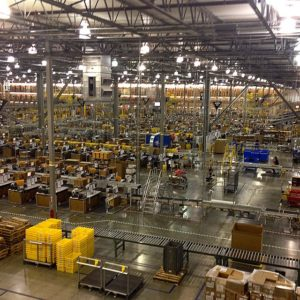 Distribution Facility cloud computing in manufacturing